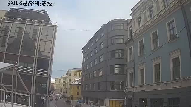 Webcam in Riga - Audeju street in the Old Town