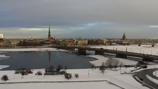 Webcam in Riga – Historical panorama