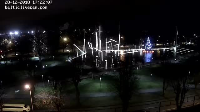 Webcam in Ventspils - view from Hotel Dzintarjura