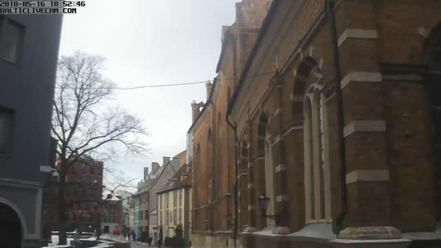 Webcam in Riga - Skarnu street in the Old Town