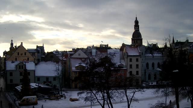 Webcam in Riga - Livu square